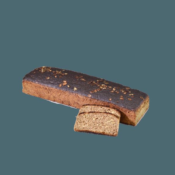 Pilno grūdo ruginė duona su moliūgų sėklomis